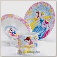 Набор детской посуды Loraine 27339 Принцесса, 3 предмета