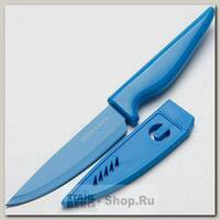 Кухонный нож для овощей Mayer&Boch 24093, лезвие 100 мм, синий