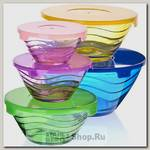 Набор контейнеров для хранения еды Mayer&Boch 27485, стекло, 5 предметов