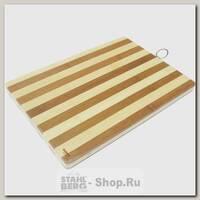 Доска разделочная Bekker BK-9707, бамбук, 38x26x2 см