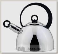 Чайник со свистком Regent inox Tea 93-TEA-25, 1.8 литра