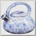Чайник со свистком Mayer&Boch 28200, 3 литра, голубой
