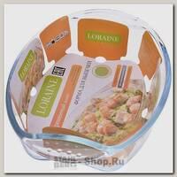 Форма для запекания Loraine 20667 2.95 литра, термостойкое стекло
