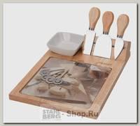 Набор кухонных ножей Regent inox Formaggio 93-FG-S-04, 10 предметов