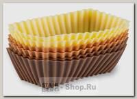 Набор форм для выпечки GIPFEL 0354 8.5х4 см, силикон
