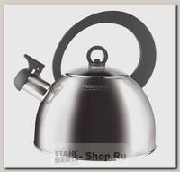 Чайник со свистком Rondell Strike Grey RDS-922 2 литра, сталь