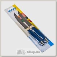 Набор кухонных ножей Tramontina Multicolor 23500/215, лезвие 135 мм, 2 предмета