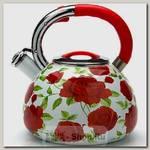 Чайник со свистком Mayer&Boch 23852 3.5 литра, эмалированный