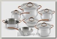 Набор посуды GiPFEL Absolute 1515, 13 предметов