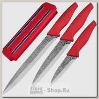 Набор кухонных ножей Mayer&Boch 24140, 3 предмета, с магнитным держателем
