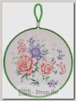 Подставка под горячее Loraine 24553 Цветок, керамика, 17 см