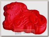Форма для выпечки пирога силиконовая Дракон Regent inox Silicone 93-SI-FO-101