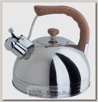 Чайник со свистком Regent inox Tea Luxe 93-2503B.2, 3.8 литра