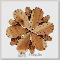 Подставка под горячее Древесник Дубовый лист кпр137, дерево