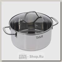 Кастрюля Taller Элиас TR-1084 5 литров, сталь