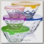 Набор контейнеров для хранения еды Mayer&Boch 27482, стекло, 5 предметов