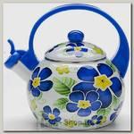 Эмалированный чайник со свистком Mayer&Boch MB-23863 2.2 литра