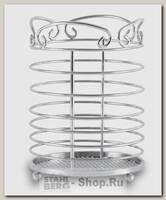 Подставка для столовых приборов GiPFEL 5187, сталь, 9.5х14 см