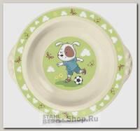 Тарелка суповая Бытпласт Пластишка 13066, полипропилен