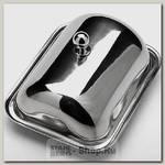 Масленка с крышкой Mayer&Boch 23514 серебристая