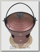 Набор для фондю Stahlberg 2352-S 1 литр, 16х17.1 см