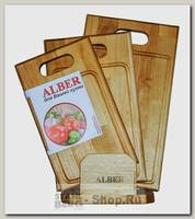 Доска разделочная Alber 80053, дерево, 3 шт