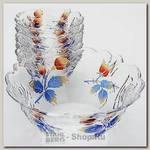 Набор салатниц Loraine 22759, стекло, 7 предметов