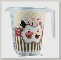 Мерный стакан Бытпласт Phibo 12643 0.65 литра, пластик