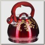 Чайник со свистком Mayer&Boch 28442 3 литра, нержавеющая сталь
