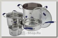 Набор посуды Stahlberg Mariana 1809-S, 8 предметов