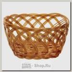 Корзинка для хлеба Oriental Way Мульти MJ-PP006BR 20х12х10 см, полипропилен