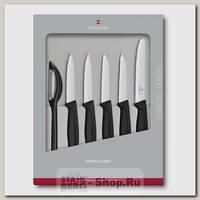 Набор кухонных ножей Victorinox 6.7113.6G, 6 предметов, черный