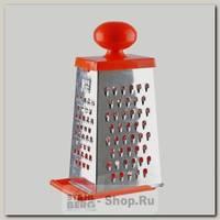 Терка четырехгранная Кварц КМ01.001.07, нержавеющая сталь
