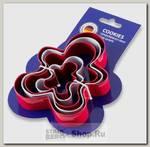 Форма для печенья GiPFEL Cookies 0359, нержавеющая сталь, 5 предметов