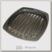 Противень для картофеля фри BEKKER BK-3962, сталь, 34.5х39х2.5 см