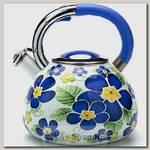 Чайник со свистком Mayer&Boch MB-23851 3.5 литра, эмалированный