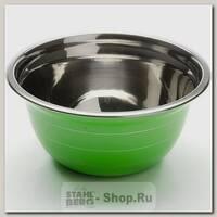 Миска стальная Mayer&Boch 30216-1 22 см, 2.1 литра, зеленая