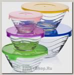 Набор контейнеров для хранения еды Mayer&Boch 27484, стекло, 5 предметов
