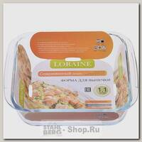 Форма для запекания Loraine 20676 1.1 литра, 20.7х18.3х4 см