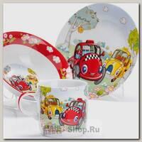 Набор детской посуды Loraine 27334 Авто, 3 предмета