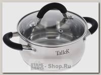 Кастрюля Taller Шелборн TR-1043 1.5 литра, сталь