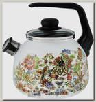 Чайник со свистком Vitross Imperio 1RС12 3 литра, эмалированный