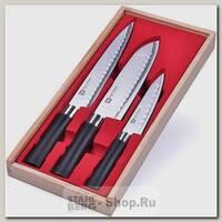 Набор кухонных ножей Mayer&Boch 28116, 3 предмета, черный