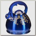 Чайник со свистком Mayer&Boch 28441 3 литра, нержавеющая сталь