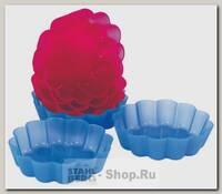 Набор форм для выпечки Корзиночка Regent inox Silicone 93-SI-FO-09, 6 штук