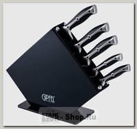 Набор кухонных ножей GiPFEL Paola 8449 5 предметов, в подставке