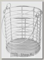 Подставка для столовых приборов Regent inox Trina 93-TR-05-04, сталь, 11х16 см