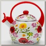 Эмалированный чайник со свистком Mayer&Boch MB-23865 2.2 литра