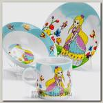 Набор детской посуды Loraine 27342 Принцесса, 3 предмета