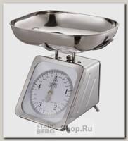 Механические кухонные весы GiPFEL 5689 со стальной чашей, до 5 кг